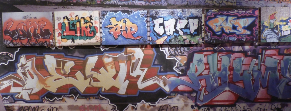 Graffiti. New York meets Dam. Ámsterdam Museum
