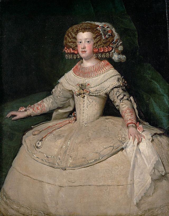 Maria Teresa de Austria, reina consorte de Francia y de Navarra e infanta de España